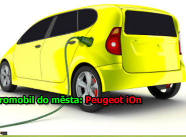 Elektromobil do města: Peugeot iOn