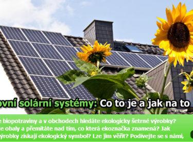 Fotovoltaická elektrárna pro vlastní potřebu? Jde to překvapivě snadno