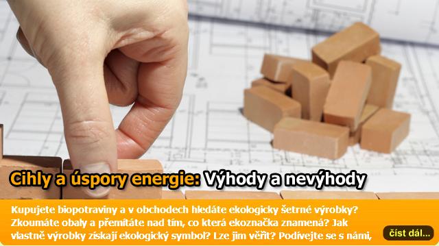 Cihly jako stavební materiál pro nízkoenergetické i pasivní domy – výhody i některá omezení