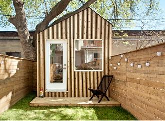 Inspirace: Pěkné zahradní studio