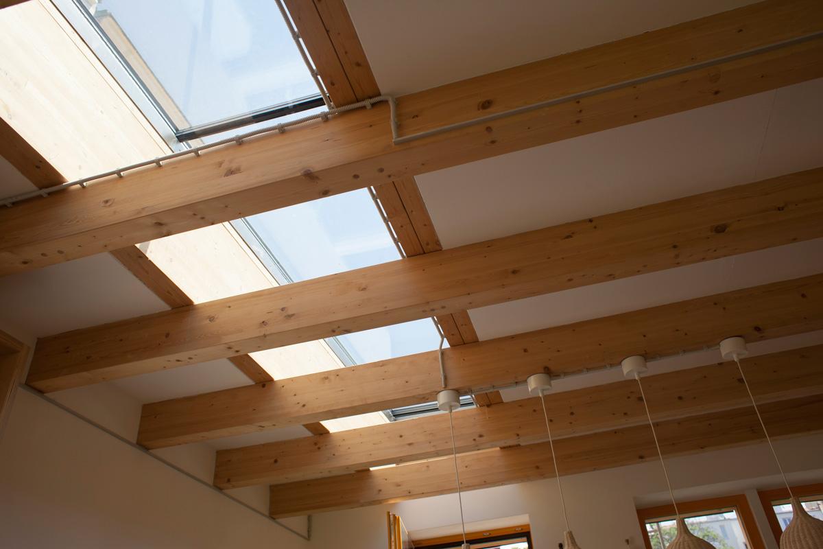 Ekologické stavební projekty – dům s květinovou střechou a komplex zdravého bydlení