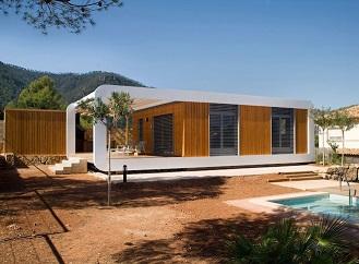 Montovaná dřevostavba řízená smartphonem: Ekologický dům 3.0