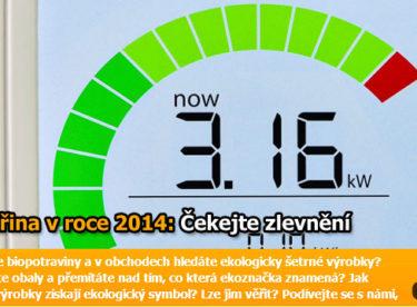Jaké budou ceny elektřiny v roce 2014