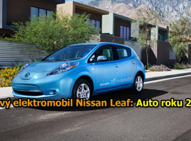 Sériově vyráběný elektromobil Nissan Leaf: Auto roku 2011