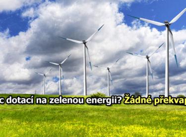Komentář: Ukončení podpory obnovitelných zdrojů mne nepřekvapuje