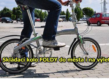 TEST: Skládací kolo Foldy do města i na kratší výlety