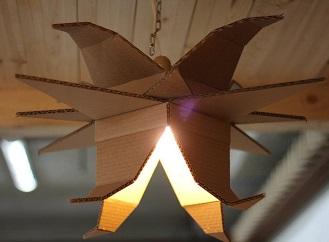 Originální svítidla z kartonu: Jednoduché, ekologické, efektní