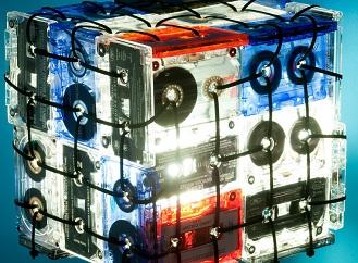 Kazety jsou zpátky na scéně: Recyklované zazáří jako působivé lampy