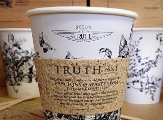 Kelímek na kávu dva v jednom: Vypij kávu, zasaď etiketu a vypěstuj bazalku