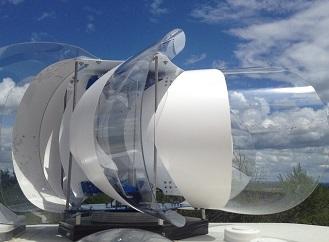 Silnější a kompatní – zdokonalená větrná turbína