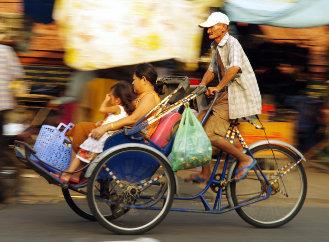 Na kole s dětmi – na co si dát pozor