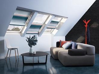 Látkové rolety řeší efektivitu a design interiéru