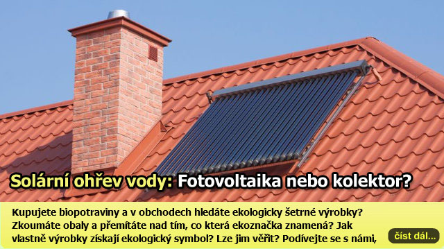 Solární ohřev vody – který systém je výhodnější?