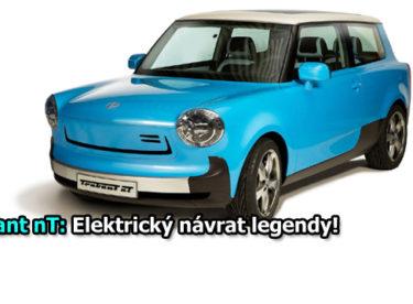 Trabant jako elektromobil: Hvězda frankfurtského autosalonu