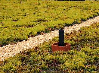 Nový systém pro snadnou instalaci extenzivních zelených střech