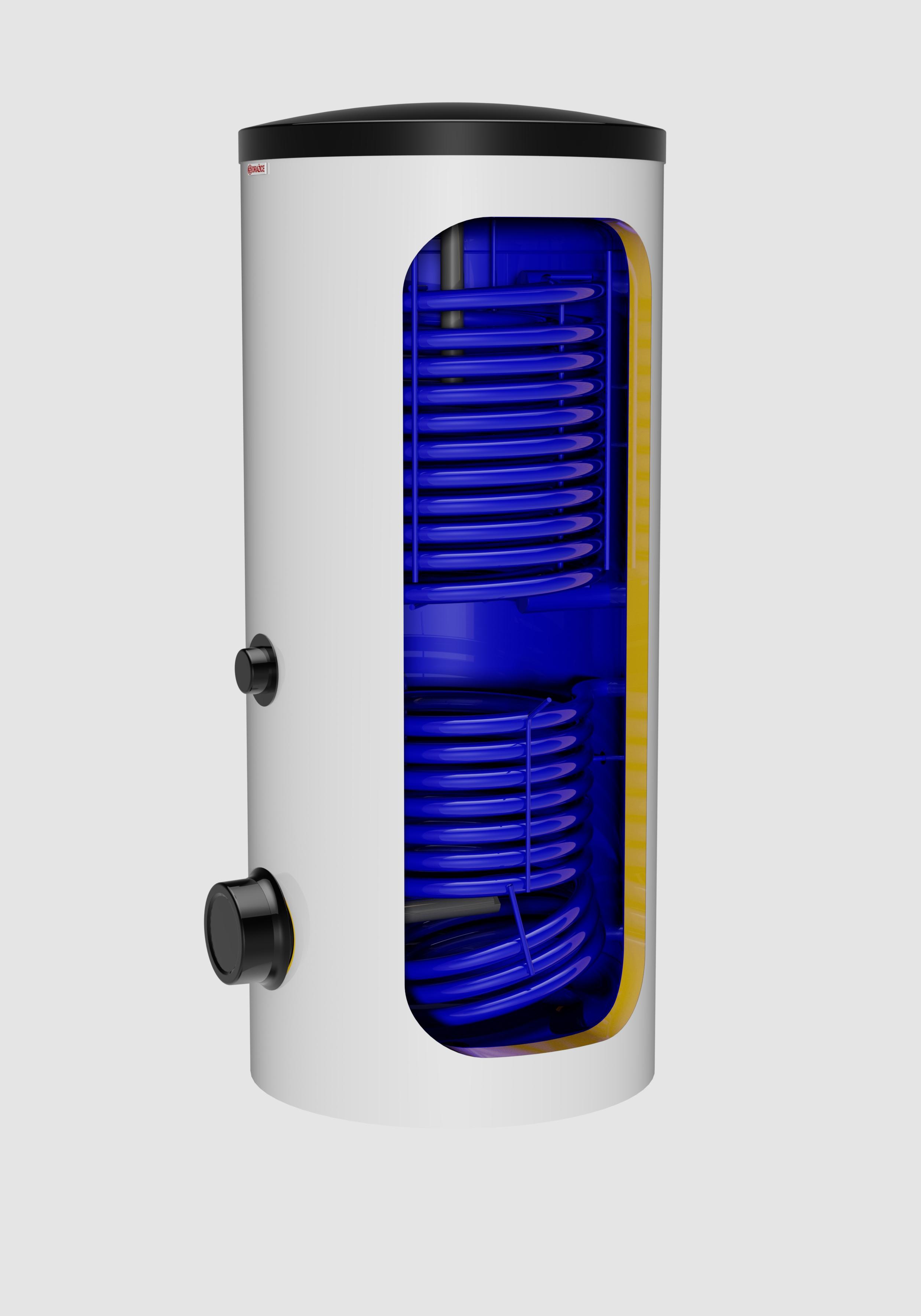 Nový nepřímotopný zásobník vody pro solární systémy