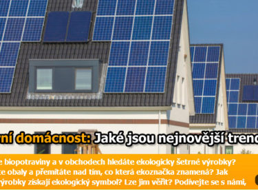 Solární elektrárna na každý dům: Trendy v oblasti domácí fotovoltaiky