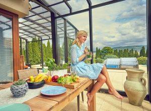 Užívejte si léta na zastřešené terase