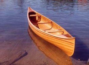 Vyrobte si loď z cedrového dřeva
