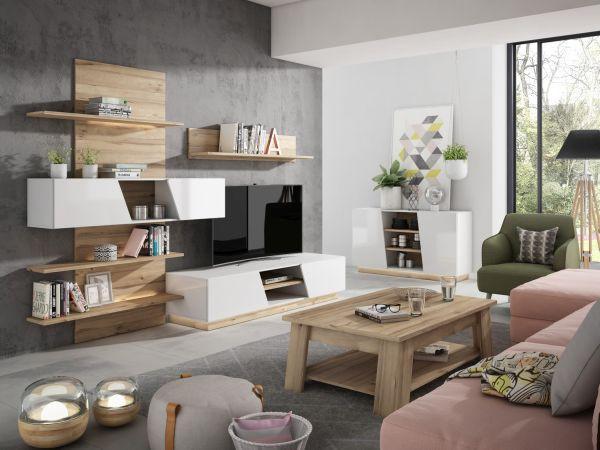 Praktický, moderní a efektivní nábytek do obývacího pokoje