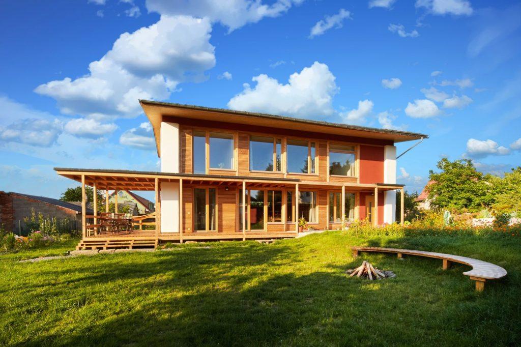 slaměný dům