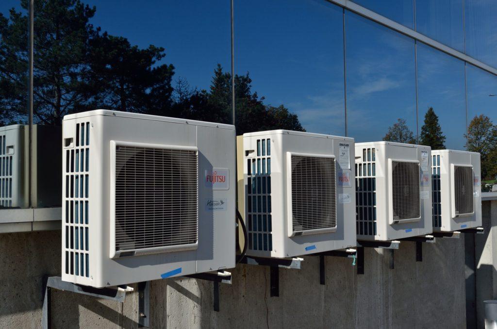 klimatizace - venkovní jednotka