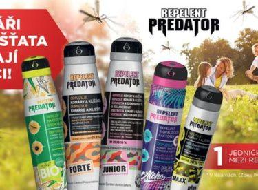 Repelenty Predator zajistí letní pohodu doma i na výletech