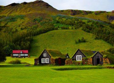 Tráva na střeše? Proč ne? Podívejte se na krásné severské domy