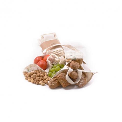 ekologické sáčky na ovoce a na pečivo