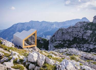 Horská chata ve Slovinsku     s dechberoucím výhledem