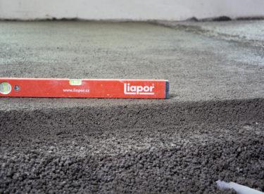 Liaporbeton – až o 2/3 lehčí beton s lepšími tepelně izolačními vlastnostmi