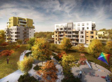 148 nových bytů: Rezidence Čámovka pokračuje s výstavbou