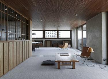 Byt v londýnském Barbicanu plný japonských detailů