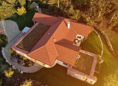 Zelené střechy a vertikální zahrady pro stavbu svépomocí koupíte nově i na internetu