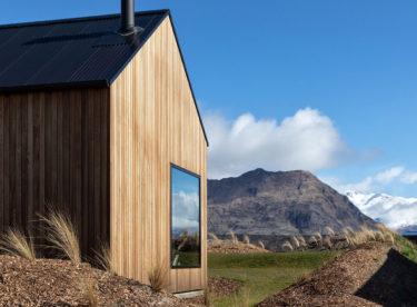 Vzdušná horská chata             z Nového Zélandu