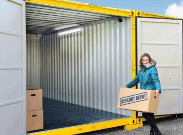 Skladujte jednoduše a levně ve skladovacích kontejnerech