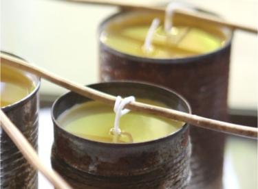 Vyrobte si svíčky, které vás zbaví komárů