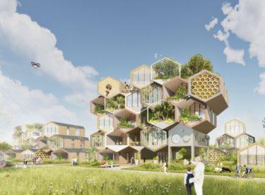 Bydlení ve včelí plástvi? Proč ne? Podívejte se unikátní projekt ekologického domu