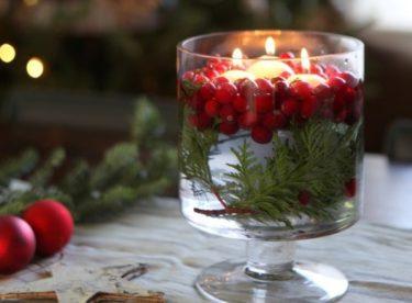 Vyrobte si vánoční dekorace s nádechem přírody