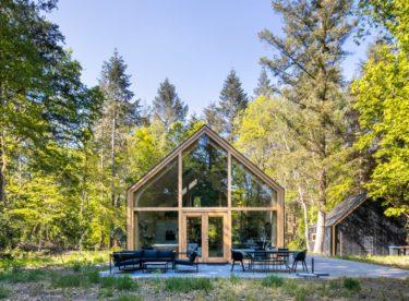 Modulová chata v duchu udržitelnosti