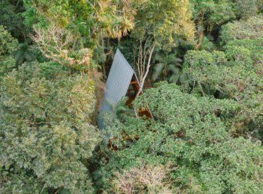 Nádherná chata uprostřed džungle