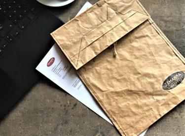 Z pytle od mouky designové tašky nebo obálky? Proč ne!