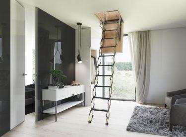 Půdní schody pro pasivní domy