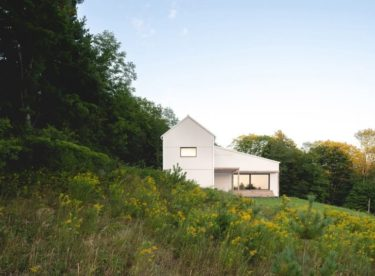 Prohlédněte si krásný pasivní dům v Quebecku