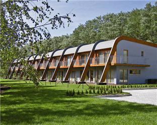 Designová dřevostavba vGOLF PARKU Plzeň