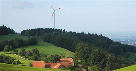 Jedním zargumentů odpůrců větrných elektráren je narušení vzhledu krajiny
