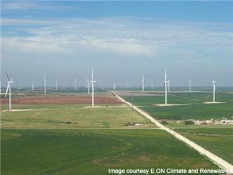 Větrná farma Roscoe vUSA