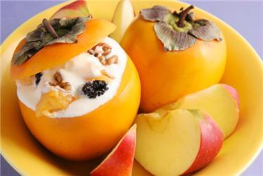 Kaki je nejen výborným základem chutného dezertu, ale je idekorativní