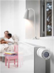 Díky termostatickým hlavicím living by Danfoss se sníží vaše náklady na vytápění