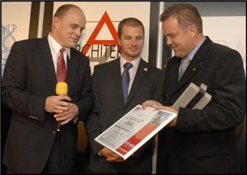 For Arch 2008 - slavnostní předávání ocenění Grand Prix pro nejlepší exponáty výstavy